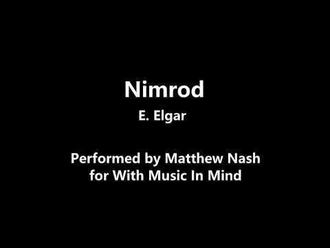 Nimrod by E. Elgar (performed by Matthew)